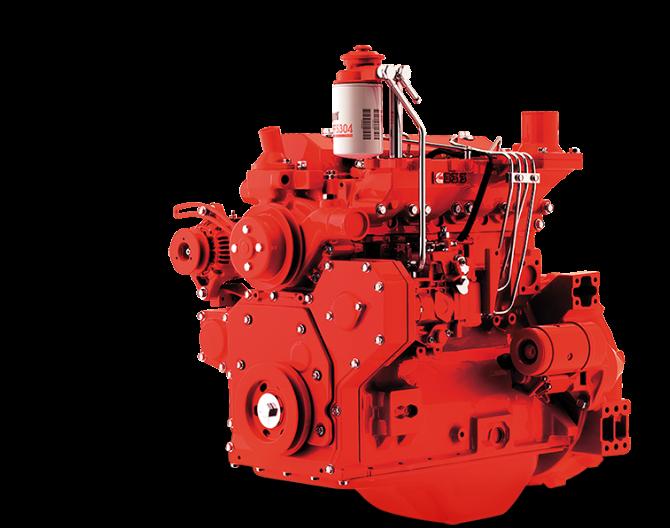 Alta performance, força e durabilidade em motorização diesel e a gás natural.