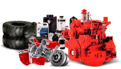 amplo estoque de Peças genuínas e Componentes com assistência técnica especializada