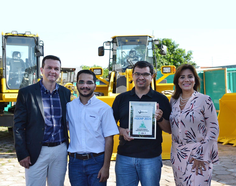DCCO é eleita Empresa Destaque de Máquinas pela Ageap