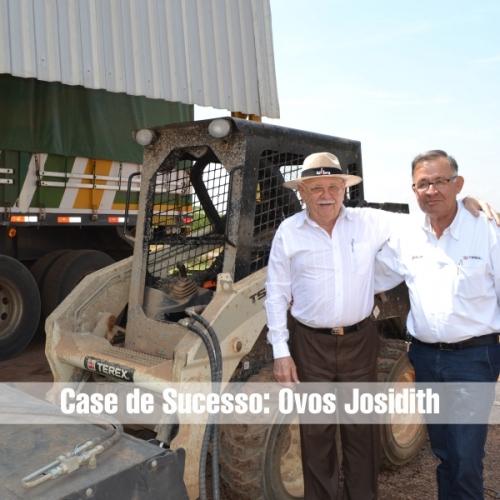 Máquinas Terex operam na ampliação do Grupo Josidith