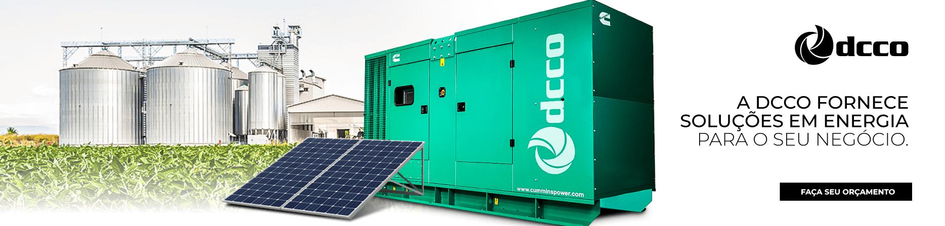 Gerador e energia solar
